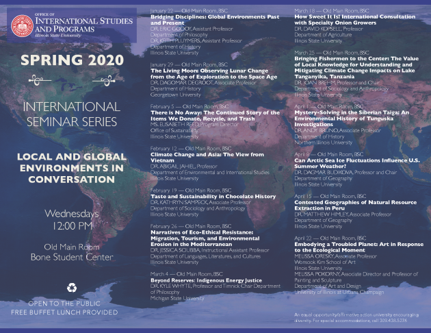 S20 International Seminar Series